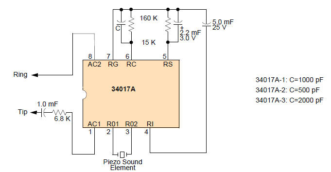 ringer circuit diagram rh tehnomagazin com Telephone Intercom Circuit Telephone Intercom Circuit