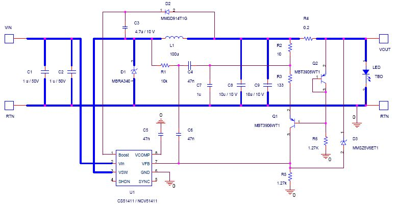 Car led light driver circuit diagram 12v or 24v in dc constant current car led driver circuit diagram asfbconference2016 Image collections