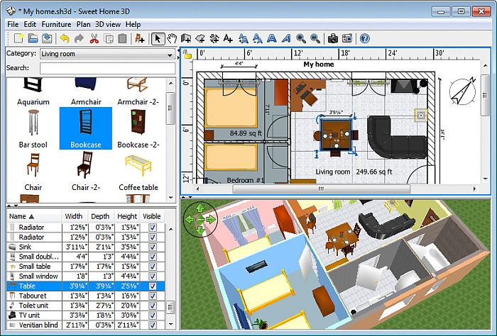 3d design software free download for 2d architectural drawing software free