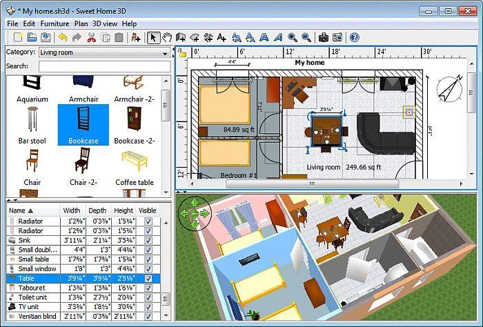 Symbolen Plattegrond Keuken : Sweet Home 3D Download