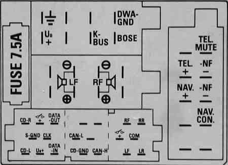 seat car radio stereo audio wiring diagram autoradio connector, Wiring diagram