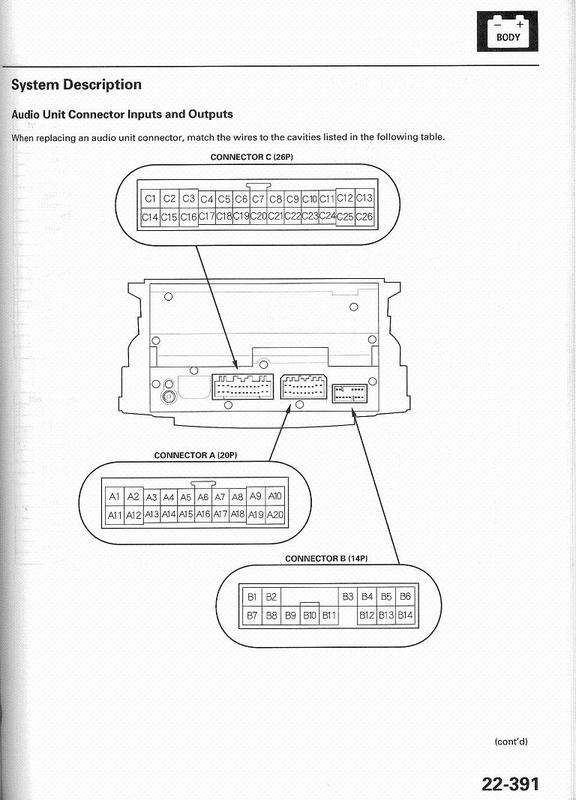 acura cl wiring diagram acura wiring diagrams online acura 2005 tl car stereo wiring diagram harness