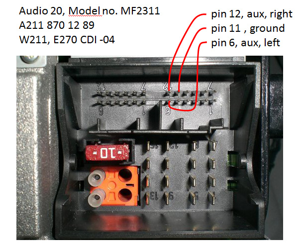 Audio20 mercedes car radio stereo audio wiring diagram autoradio connector Ford Radio Wiring Diagram at crackthecode.co