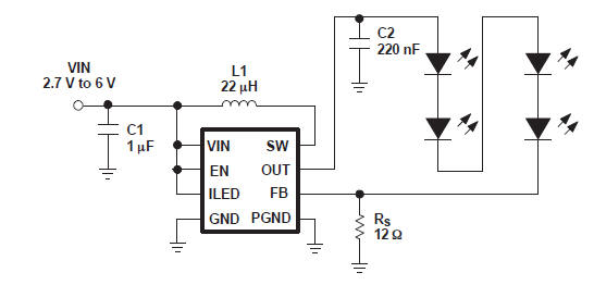 constant current led driver circuit diagram