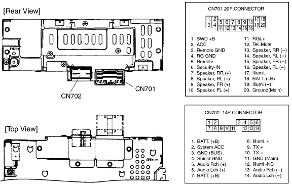 HONDA 2J30 2J32 2J34 2JL0 car stereo wiring diagram harness pinout connector deh x6600bt cd receiver with mixtrax, bluetooth�, usb direct pioneer deh p2000 wiring diagram at fashall.co