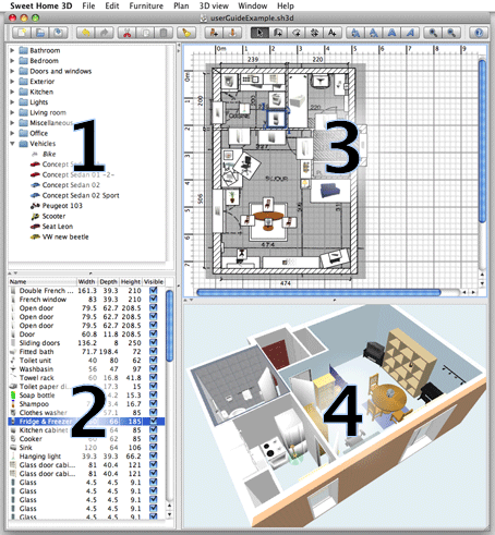 Interior design software free download Software for home design