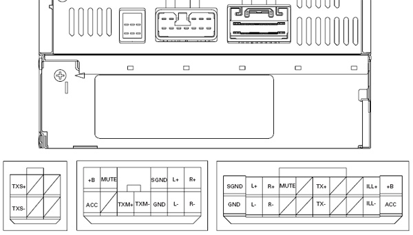 lexus car radio stereo audio wiring diagram autoradio connector lexus dvd rx330