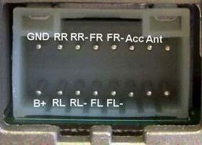 goldstar car radio stereo audio wiring diagram autoradio connector on lg car radio wiring diagram
