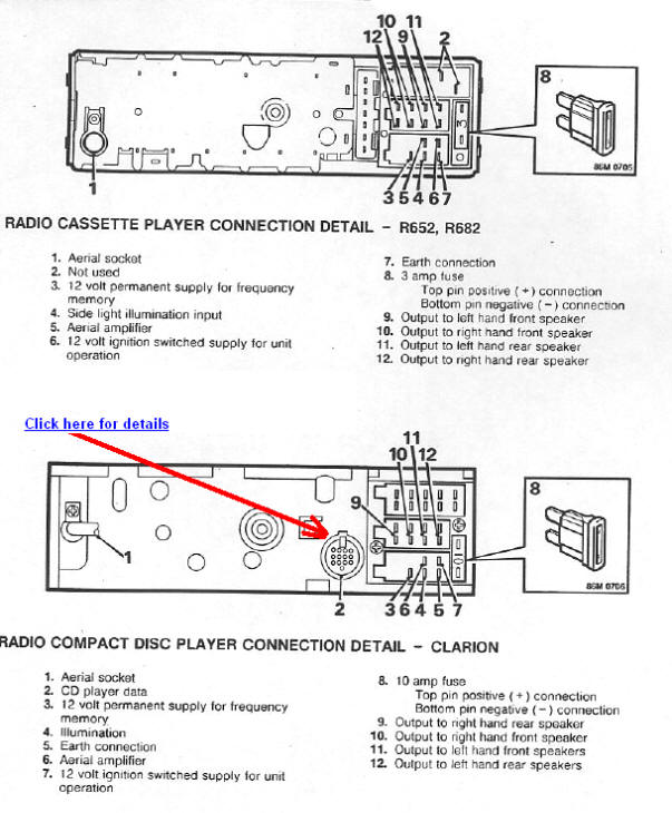 Land Rover 800 car radio wiring diagram connector pinout range rover car radio stereo audio wiring diagram autoradio Range Rover Seat Wiring Diagrams at gsmx.co