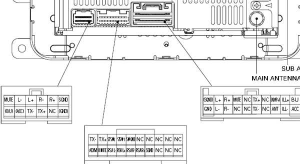 pioneer car radio stereo audio wiring diagram autoradio connector lexus p3500 pioneer fx mg8767dv