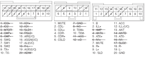Lexus P1760 car stereo wiring diagram connector pinout pioneer car radio stereo audio wiring diagram autoradio connector pioneer car radio diagrams at aneh.co