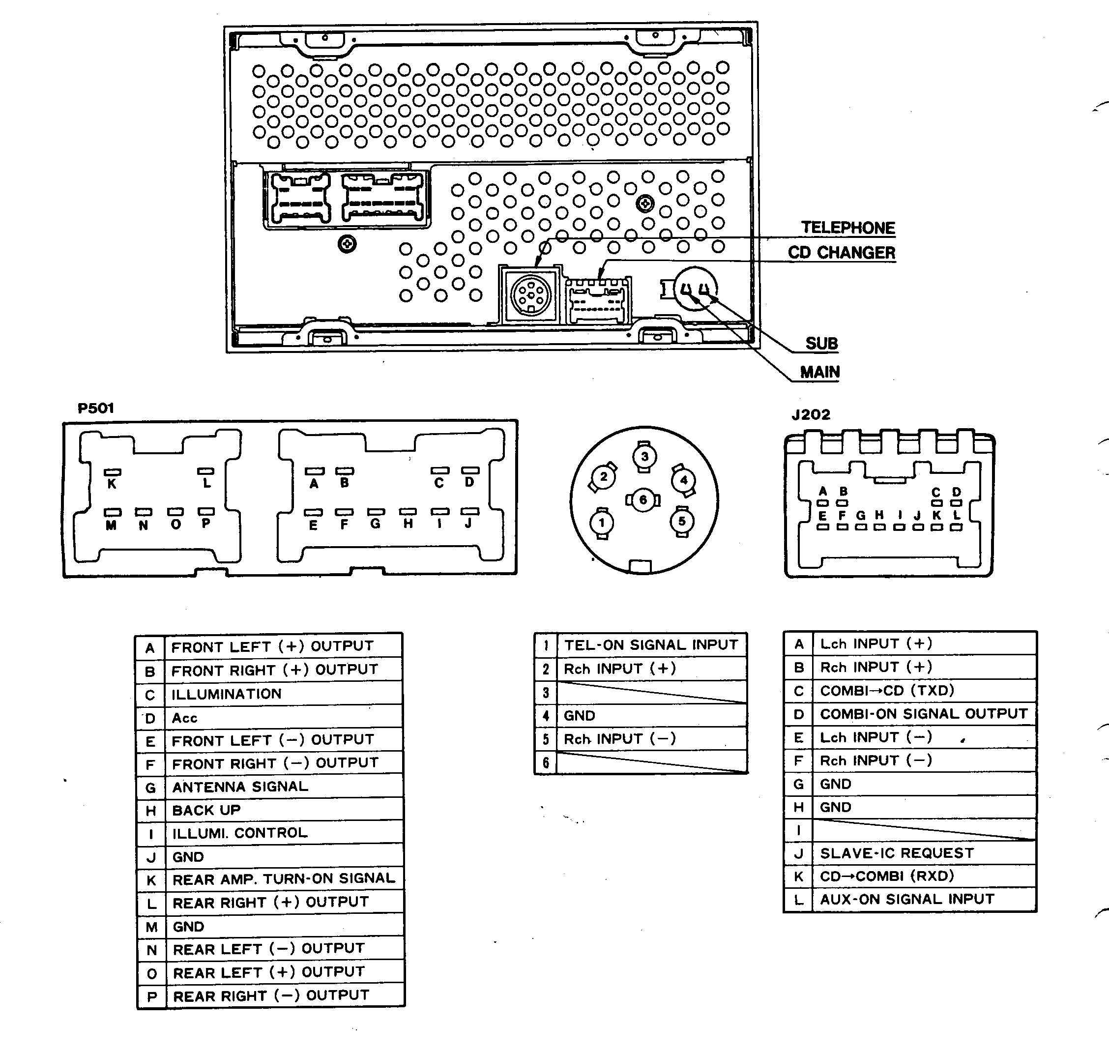 2001 Nissan Pathfinder Radio Wiring Diagram from www.tehnomagazin.com