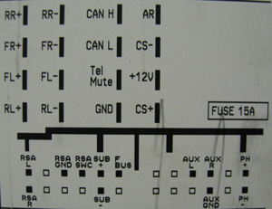 OPEL Car Radio Stereo Audio Wiring Diagram Autoradio