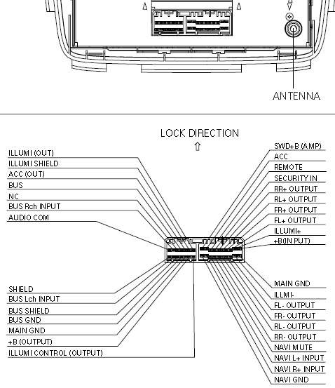 PIONEER 3TF0 (FX MG6006ZH BOSE changer ACURA) pioneer car radio stereo audio wiring diagram autoradio connector pioneer deh x1910ub wiring diagram at mr168.co