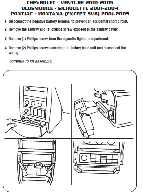 Pontiac Montana stereo removal installation pontiac car radio stereo audio wiring diagram autoradio connector 2006 Grand Prix Engine Diagram at bayanpartner.co