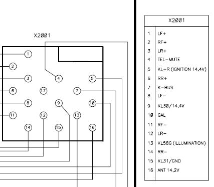 Rover Blaupunkt Cd Stereo Wiring Connector on Car Radio Iso Diagram
