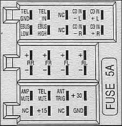 saab car radio stereo audio wiring diagram autoradio connector saab 12781856 stereo wiring connector