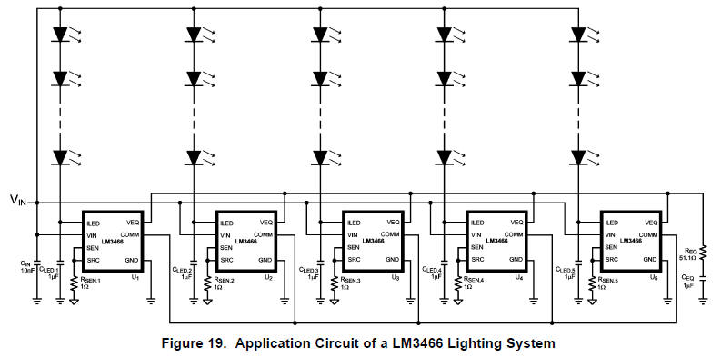 string led circuit diagram constant current power supply