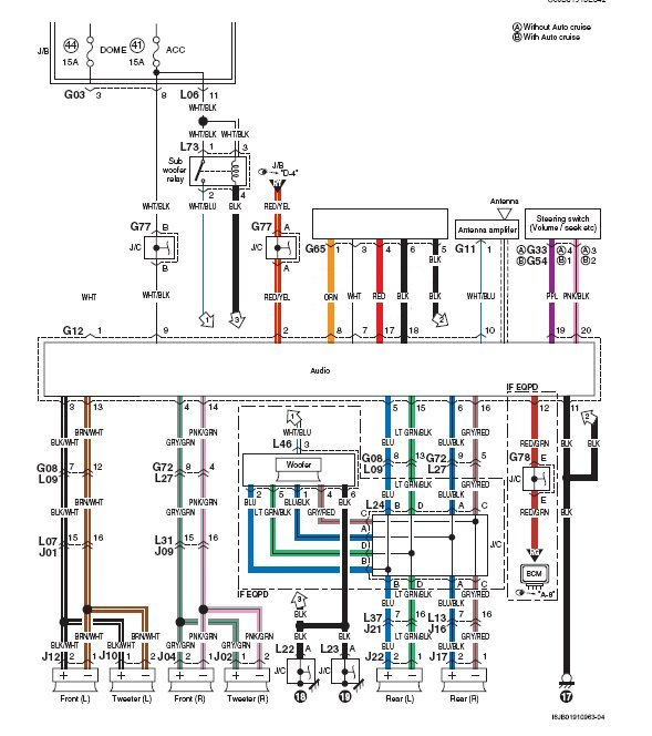 Suzuki Sx4 Radio Wiring Harness Diagram. Suzuki. Wiring Diagrams ...