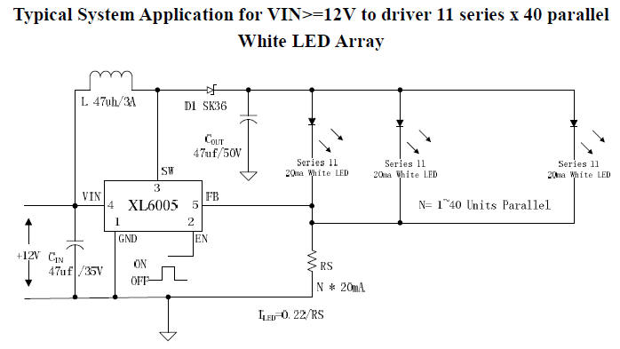 Switch on Led Driver Circuit Diagram
