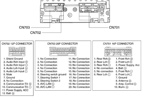 TOYOTA 16852 17828 Fujitsu Ten car stereo wiring diagram harness pinout connector toyota 08600 wiring diagram 09 toyota corolla wiring diagram 2010 toyota rav4 radio wiring diagram at bayanpartner.co