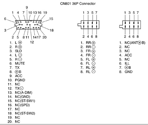 toyota avalon jbl amplifier wiring diagram get free