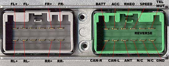 VOLVO HU 1205 stereo wiring connector volvo car radio stereo audio wiring diagram autoradio connector 2004 volvo xc90 radio wiring harness at soozxer.org