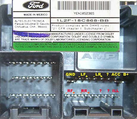 Ford L F C Bb on ford focus stereo wiring diagram