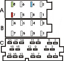 Delphi Dea500 Wiring Diagram on universal radio wiring harness