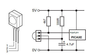 Infrared 20sensor on wiring diagram for a light sensor