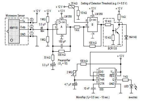 Microwave Sensor on pir motion sensor wiring diagram