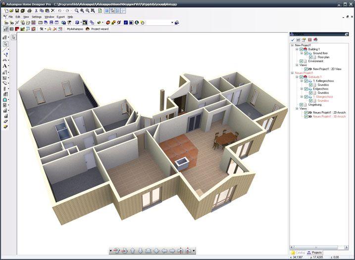 3d Huis Design Software Programma Gratis Te Downloaden