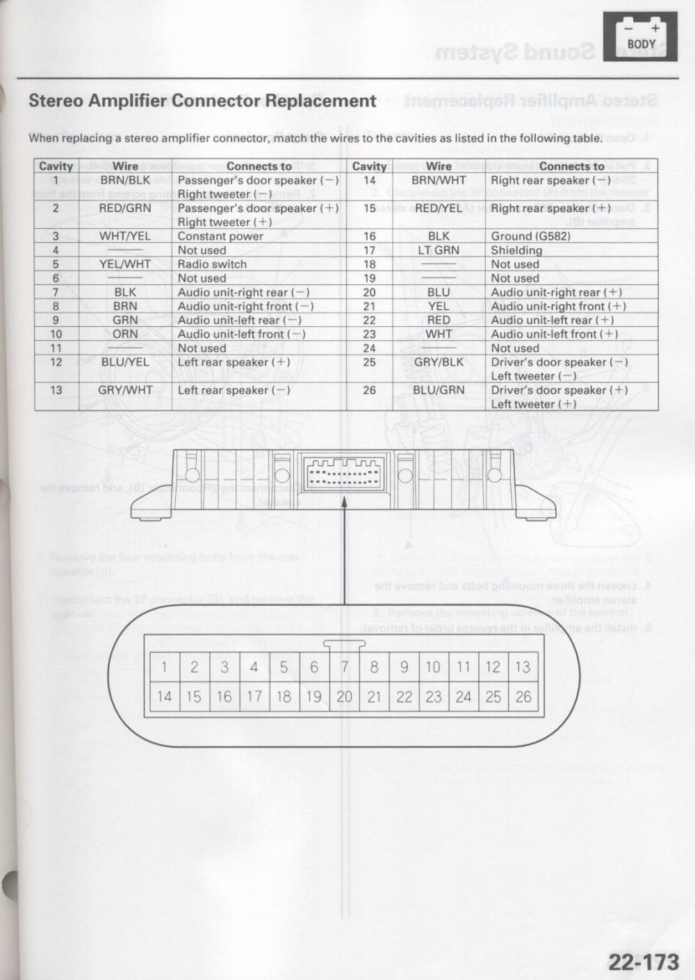 Acura Rsx Wiring Harness Diagram Not Lossing Engine Car Radio Stereo Audio Autoradio Connector 2003
