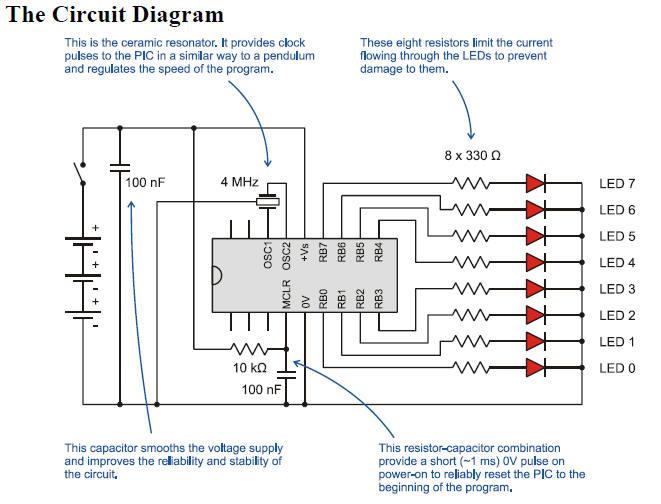 Build Led Circuit Diagram