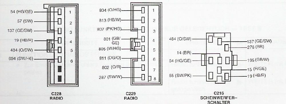 FORD Car Radio Stereo Audio Wiring Diagram Autoradio connector wire