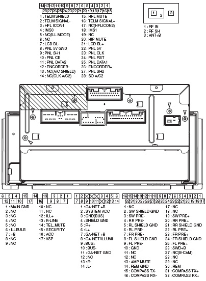 honda car radio stereo audio wiring diagram autoradio ... 1990 honda accord factory radio wiring diagram