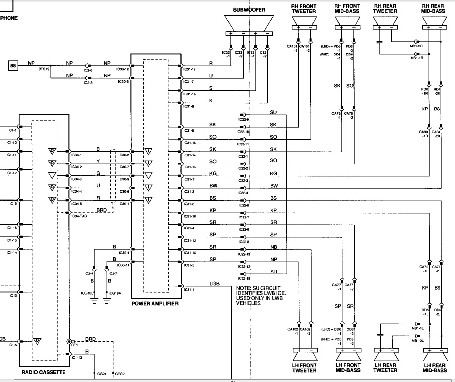 JAGUAR Car Radio Stereo Audio Wiring Diagram Autoradio connector wire  installation schematic schema esquema de conexiones stecker konektor  connecteur cable shema | Jaguar Car Wiring Diagram |  | TehnoMagazin.com