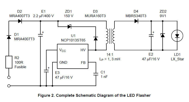 led flasher circuit diagram with luxeon v star led. Black Bedroom Furniture Sets. Home Design Ideas