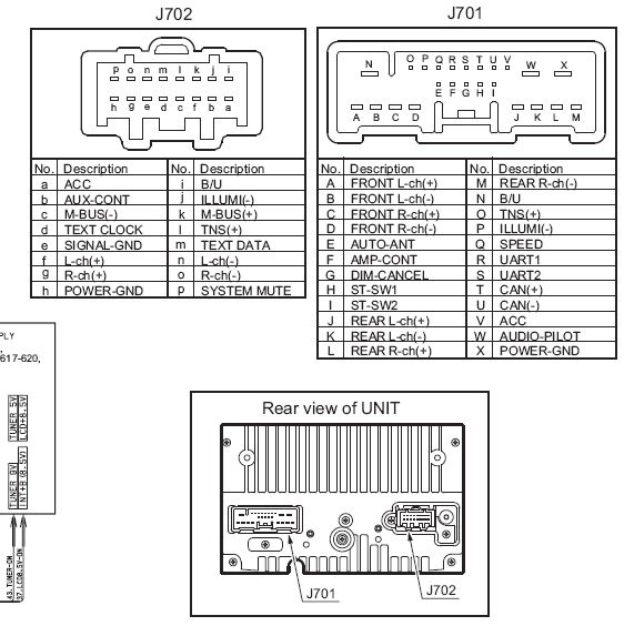 MAZDA PT 2674J Clarion CC45 66 ARX car stereo wiring diagram harness pinout wiring diagram for clarion car stereo wiring diagram and Car Stereo Wiring Colors at n-0.co