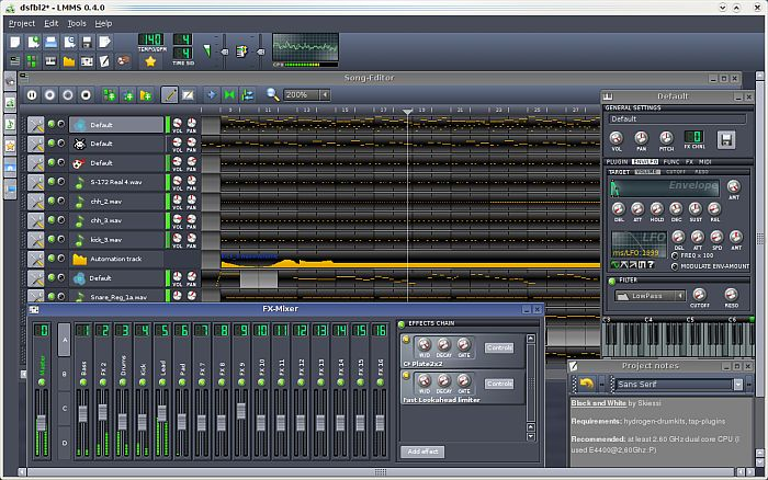 muziek  poneren software gratis download programma