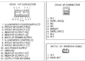 subaru car radio stereo audio wiring diagram autoradio kenwood model kdc 4011s wiring diagram