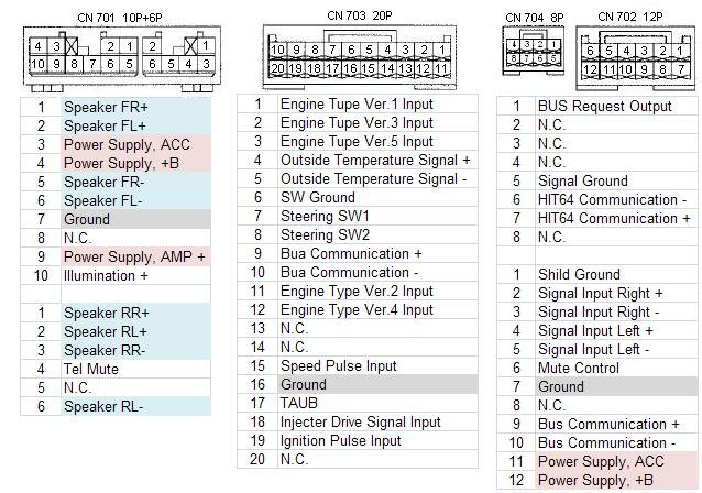 fujitsu ten car stereo wiring diagram   37 wiring diagram