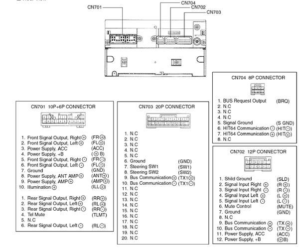 [ANLQ_8698]  TOYOTA Car Radio Stereo Audio Wiring Diagram Autoradio connector wire  installation schematic schema esquema de conexiones stecker konektor  connecteur cable shema | Vt Stereo Wiring Diagram |  | Schematics diagrams, car radio wiring diagram, freeware software